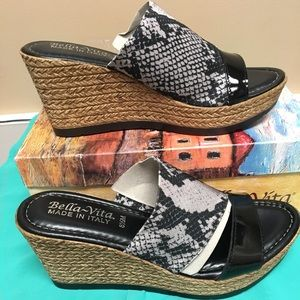 Bella Vita Women's Sandal 8.5